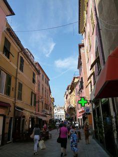 Sestri Levante Liguria Italia (Luglio) Sestri Levante, Street View, Italia