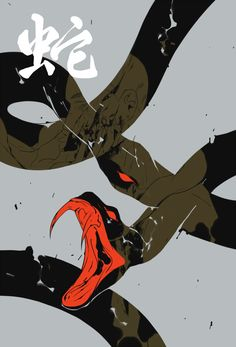 My piece for Lin Hu s Zodiac Zine featuring snake zodiac Snake Zodiac, Art Sketches, Art Drawings, Snake Painting, Pinturas Disney, Snake Art, Japan Art, Animes Wallpapers, Dark Art