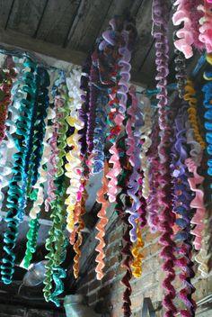 #100womenproject - Amy Reader - crochet wisteria vines