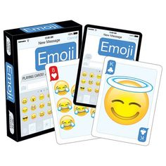 NEW Emoji Clean Playing Cards - Check it out! http://geek.ragebear.com/hak8z