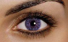 gekleurdelenzen violet 25