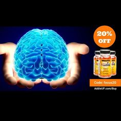 AddieUP on sale now! Get yours for 20% off just for following us! Visit our site and put in the code: focus20 at checkout! #nootropics #sale #addieup #caffeine #energy #focus #clarity