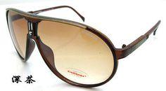 2016 new Men & Women's Retro Sunglasses Unisex Matte Frame Carrera Glasses  Box
