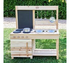 Buy Chad Valley Wooden Mud Kitchen at Argos. Thousands of products for same day delivery or fast store collection. Outdoor Play Kitchen, Diy Mud Kitchen, Mud Kitchen For Kids, Kids Outdoor Play, Backyard Play, Backyard For Kids, Outdoor Toys, Diy For Kids, Kids Wooden Kitchen