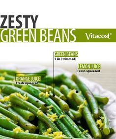Zesty Green Bean #Recipe from @Matty Chuah Healthy Apple
