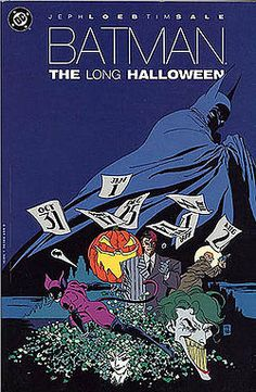 For super hero fans, Batman The Long Halloween is a compliation of the 13 comic-book story arch following the caped crusader's attempt to stop the mysterious killer known only as Holiday.