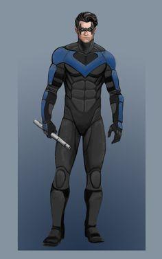 Nightwing concept by ElChocha