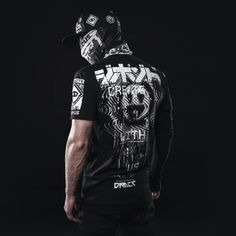 Damascus Apparel — Create with us. The People of Silk and Steel. Best Mens Fashion, Dark Fashion, Urban Fashion, Cyberpunk Clothes, Cyberpunk Fashion, Streetwear, Stylish Boys, Mens Gear, Apparel Design