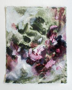 """December Dusk {9}"" 5x4in painting oil and graphite on paper #abstractpainting #abstractpainter #artstudio #michiganartist #contemporaryart #contemporaryartist #christianart #propheticart #oilpainting #studio #artiststudio #artistsoninstagram #artpainting #minipainting #paintingonpaper"
