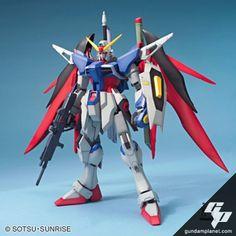 G Gundam Characters   Gundam Planet - MG ZGMF-X42S Gundam Destiny - Plastic Model Kits and ...