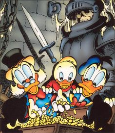 To Duckburg and beyond: Photo Disney Best Friends, Mickey And Friends, Disney Family, Walt Disney Characters, Cartoon Characters, Disney Duck, Disney Art, Donald Duck Comic, Foto Top