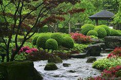 Japanischer Garten im Botanischen Garten, Augsburg, Germany
