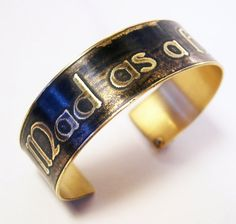 Etched Brass Cuff Mad as a Hatter by AmongTheRuins on Etsy, $38.00