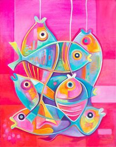 Cubist painting Abstract Art Original Oil on canvas by MarlinaVera
