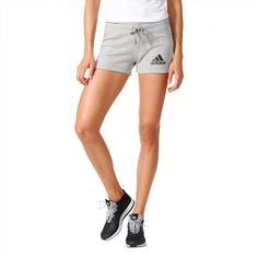 27.95$  Watch here - http://vikhy.justgood.pw/vig/item.php?t=yayl50a10421 - Adidas Women's Shorts Training Essentials Solid Gray Running New Summer S97162