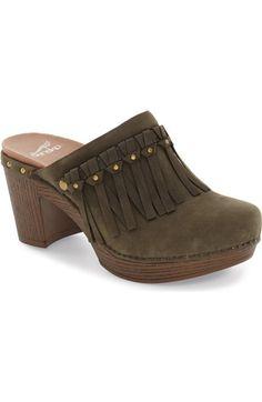 d6366110c4e8 Dansko  Deni  Clog (Women) available at  Nordstrom Black Slip On Shoes