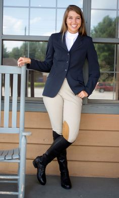 Beautifully Attired & Ready to Show - Expert how-to for English Riders Equestrian Boots, Equestrian Outfits, Equestrian Style, Equestrian Girls, Equestrian Fashion, Riding Helmets, Riding Boots, Horse Riding, Riding Jacket