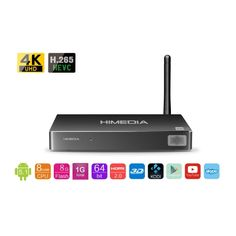 HIMEDIA TV BOX RK3368 64-BIT OCTO CORE 4KX2K, 1G/8G