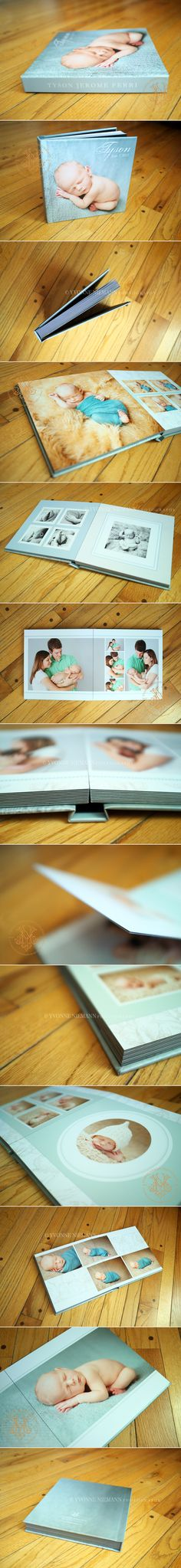 Newborn Storybook Album by Yvonne Niemann