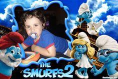 Moldura - The Smurfs 2