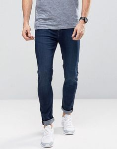 Cheap Monday Tight Skinny Jeans Ink Blue - Blue