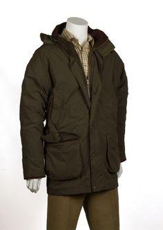 Bonart Country Clothing Tayside Technical Shooting Jacket gentlemans Tayside Technical Shooting Field jacket 3 4 length coat with detachable hood Zip