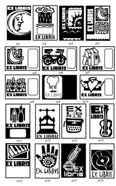 papeles y sellos