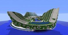 Lilypad City | Eco Floating City | Minecraft Building Inc