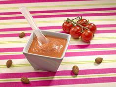 Velouté tomate amande pour bébé