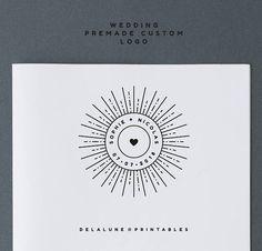 LOGO Mariage personnalisé Design logo Mariage Logo nom
