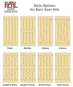 Real Sliding Hardware - Sapele Mahogany Barn Door, $880.00 (http://www.realslidinghardware.com/sapele-mahogany-barn-door/)