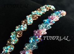 10 Right Angle Weave Bracelet Tutorials