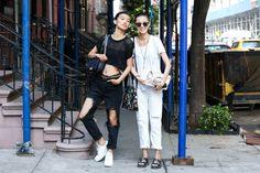New York Fashion Week Spring 2015 Street Style - nyfw spring 2015 models street style (27)