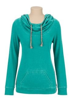 Washed Thermal Hoodie (original price, $34) available at #Maurices