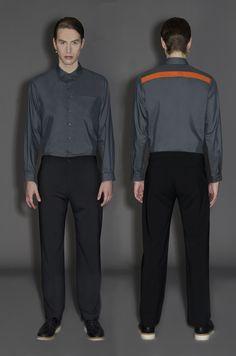 Clothes By James Hillman  Photo by Carolina Mizrahi  Styled by Ambra Carboni  Model Tim Ren