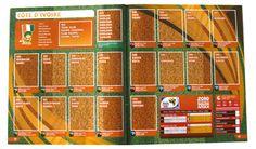 Panini Checkliste WM 2010 Elfenbeinküste ohne Sticker