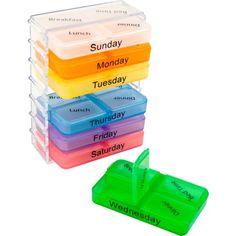 Remedy Daily Pill and Vitamin Organizer