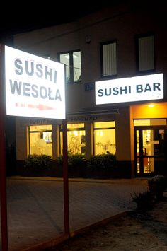 Suchi wesoła - profesjonalny sushi bar