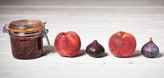 Recipe Black Fig And Vineyard Peach Chutney - Le Parfait Beetroot Chutney Recipe, Chutney Recipes, Apple Jam, Apple Juice, Peach Chutney, Black Fig, Parfait, Balsamic Vinegar, Sugar And Spice