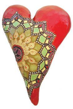 Marcele's Colors: Laurie Pollpeter Eskenazi: Ceramic Wall Art - Artful Home