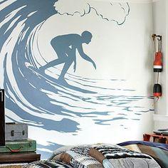 Surfer  Decal #potterybarnteen