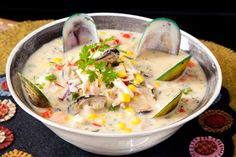 Seafood chowder – Recipes – Bite
