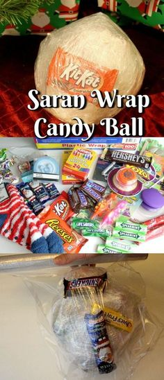 Have You Heard Of The Saran Wrap Candy Ball Game? The Saran Wrap Candy Ball Game. - Have You Heard Of The Saran Wrap Candy Ball Game? The Saran Wrap Candy Ball Game is one of those un - Halloween Tags, Halloween Party Games, Kids Party Games, Family Party Games, Sleepover Games, Tween Party Ideas, Baseball Party Games, Halloween Games For Adults, Camping Party Games
