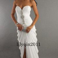 2012 Sexy Wedding dress Formal Dress Evening Ball Gown Stock size 6-16