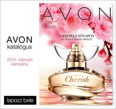 2015. február Avon, Perfume Bottles, Layout, Beauty, Page Layout, Perfume Bottle, Beauty Illustration