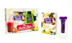 Groupon - Juice Bar Book and Juice Bottle Set. Free Returns. in Online Deal. Groupon deal price: $8.99