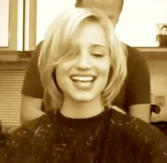 Dianna Agron: hair today, gone tomorrow!