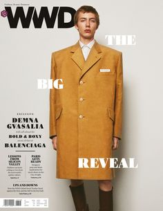 BALENCIAGA SS17 COLLECTION on the cover of WWD.