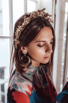 Handmade with love in Vienna. Winter Season, Flower Crown, Headpiece, Halo, Berries, Sparkle, Seasons, Handmade, Collection
