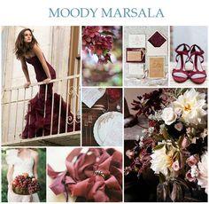 marsala wedding - Google Search